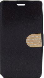 LG G Flex 2 Glitter Bling Wallet Black