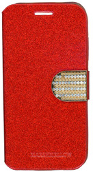 Huawei Union Glitter Bling Wallet Red