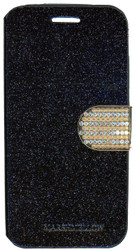 Huawei Union Glitter Bling Wallet Black
