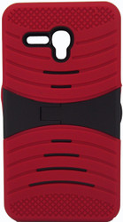 Alcatel Fierce XL  Armor Case With Kickstand Red