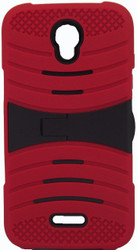 Alcatel Elevate Armor Case With Kickstand Red