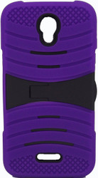 Alcatel Elevate Armor Case With Kickstand Purple