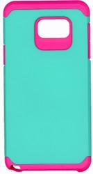 Samsung Note 5 MM Slim Dura Case Green & Pink