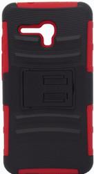 Alcatel FIerce XL H Kickstand Black & Red