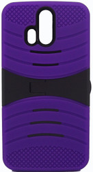 ZTE Axon Pro Armor Case With Kickstand Purple