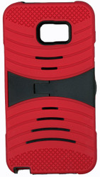 SAMSUNG  NOTE 5  MM Armor Case With Kickstand Red