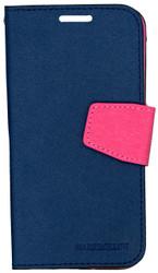 Samsung Galaxy S6 Professional Wallet Navy & Pink