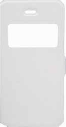 IPhone 5/5S/SE Caller ID Flip Wallet  White