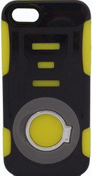 IPhone 5/5S/SE Ring Hybrid Black & Yellow