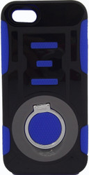 IPhone 5/5S/SE Ring Hybrid Black & Blue
