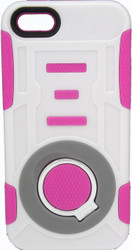 IPhone 5/5S/SE Ring Hybrid Pink & White