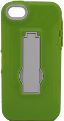 IPhone 5/5S Armor Horizontal With Kickstand Green