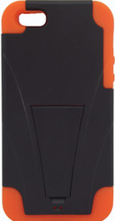 IPhone 5/5S Kickstand Black & Orange
