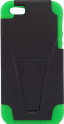 IPhone 5/5S Kickstand Black & Green