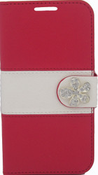 SOLD OUT HTC Desire 510 MM Flower Wallet Red