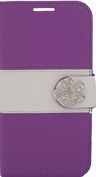 SOLD OUT HTC Desire 510 MM Flower Wallet Purple