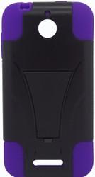 HTC Desire 510 Kickstand Black & Purple