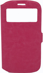 Samsung Galaxy S3 Caller ID Flip Wallet Pink