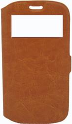 Samsung Galaxy S3 Caller ID Flip Wallet Orange