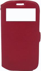 Samsung Galaxy S3 Caller ID Flip Wallet Red