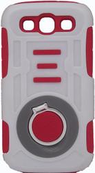 Samsung Galaxy S3 Ring Hybrid Red & White