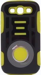 Samsung Galaxy S3 Ring Hybrid Black & Yellow
