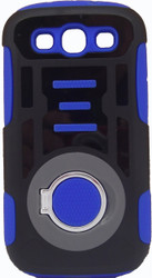Samsung Galaxy S3 Ring Hybrid Black & Blue