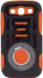 Samsung Galaxy S3 Ring Hybrid Black & Orange