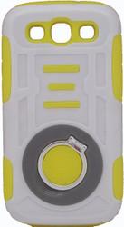Samsung Galaxy S3 Ring Hybrid White & Yellow
