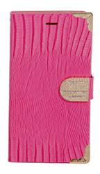 Samsung Mega 5.8 Deluxe Wallet Pink