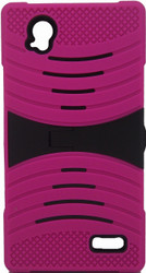 ZTE Warp Elite Armor Case With Kickstand Pink