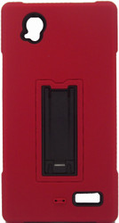 ZTE Warp Elite Armor Horizontal With Kickstand Red