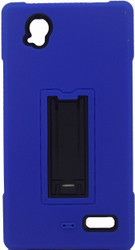 ZTE Warp Elite Armor Horizontal With Kickstand Blue