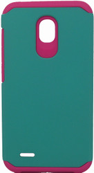 Alcatel Conquest  MM Slim Dura Case Green & Pink