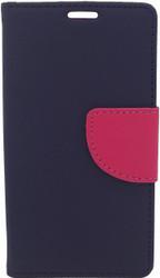 LG Optimus F60 Professional Wallet Navy & Pink