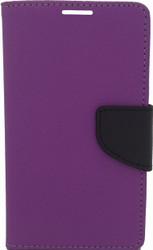 LG Optimus F60 Professional Wallet Purple