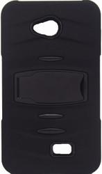 LG Optimus F60 MM Kickstand Black