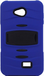 LG Optimus F60 MM Kickstand Blue