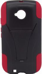 Motorola E LTE CDMA Kickstand Black & Red
