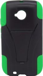 Motorola E LTE CDMA Kickstand Black & Green