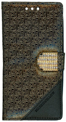 LG G FLex 2 Design Wallet With Bling Gold
