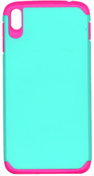 Alcatel Idol 3 5.5 MM Slim Dura Case Green & Pink