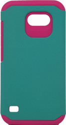 Huawei Union  MM Slim Dura Case Green & Pink