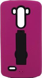 LG G3 Armor Horizontal With Kickstand Pink