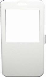 Samsung Note 2 Caller ID Flip Wallet White