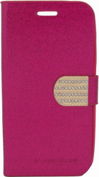 ZTE Obsidian Glitter Bling Wallet Pink