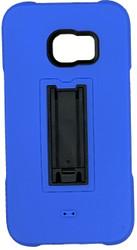 Samsung Galaxy S6 Edge Plus Armor Horizontal  With Kickstand Blue