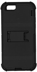 Iphone 6/6S MM Triple Layer Armor Case With Kickstand Black