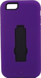 Iphone 6/6S Armor Horizontal  With Kickstand Purple