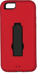 Iphone 6/6S Armor Horizontal  With Kickstand Red